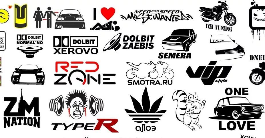 Автомобильные магниты или автомобильные наклейки: что выбрать?