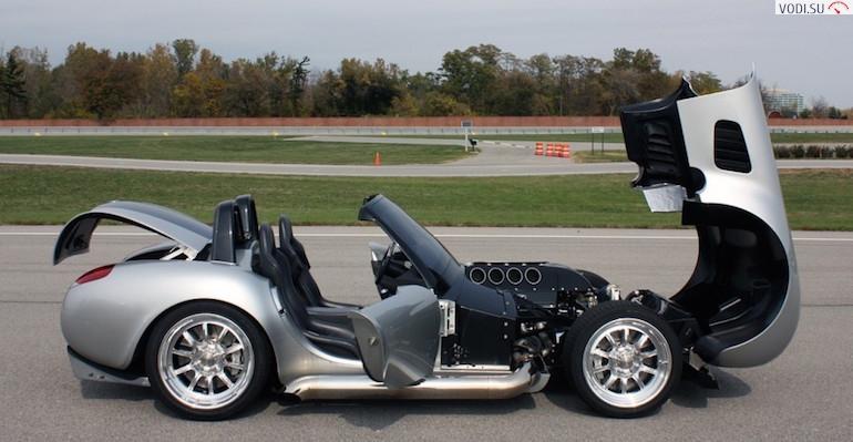 В чем разница между спортивным автомобилем и родстером?