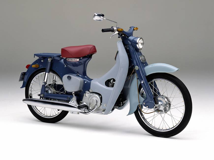 История Honda C90