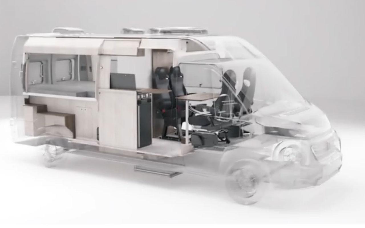 Кемпер-трансформер:то грузовик,то рабочий кабинет— журнал Зарулем
