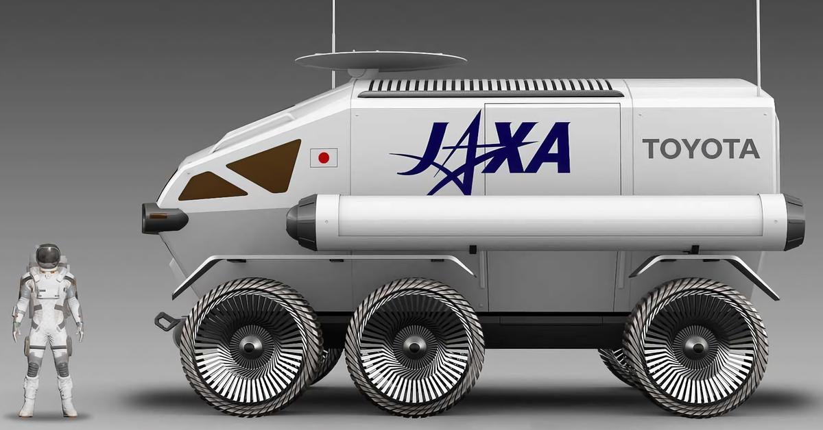 Луноход Toyota будут заправлять топливом, сделанным на Луне