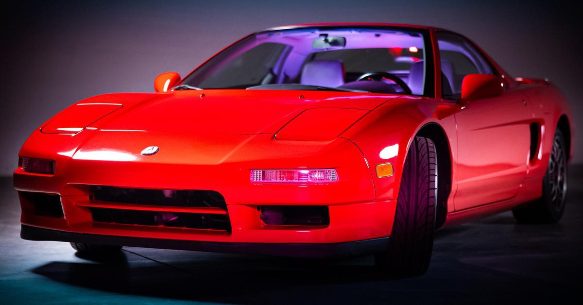 Редчайшую 20-летнюю Acura NSX пустят с молотка — Motor