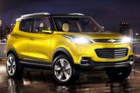 GM показала концепт кроссовера Chevrolet Adra в Индии
