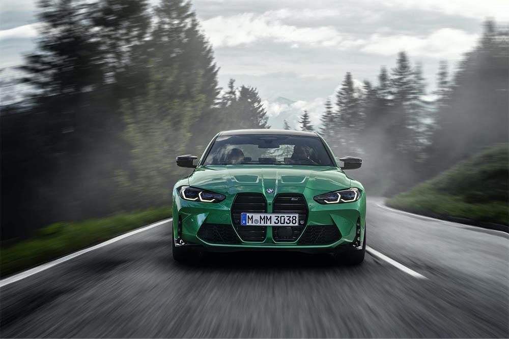 Мировая премьера нового спорткара BMW G80 M3