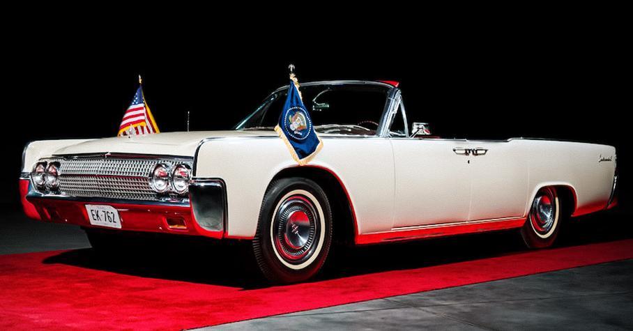На аукционе продадут президентский Lincoln Continental