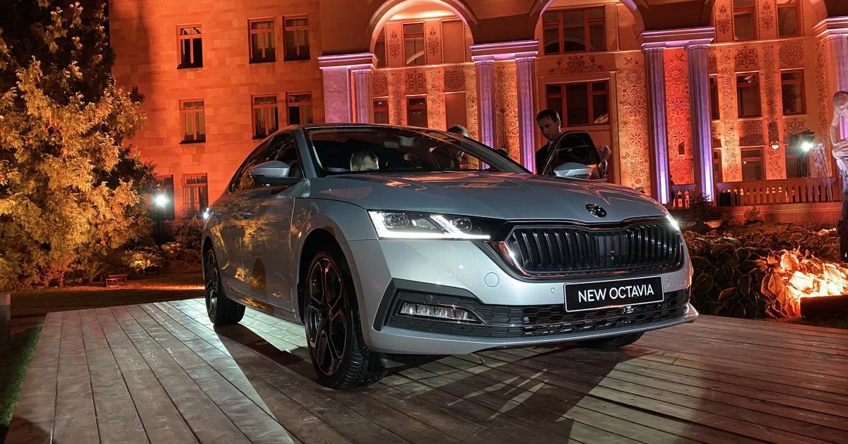 Раскрыта стоимость новой Skoda Octavia в России — Motor