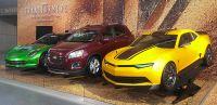 Модели Chevrolet снова приняли участия в фильме «Трансформеры: Эпоха истребления»