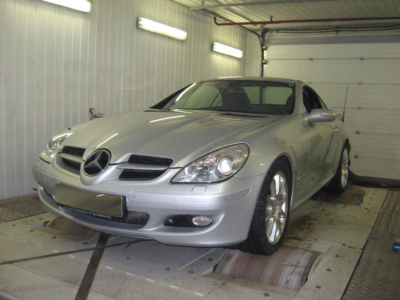 Чип тюнинг Mercedes SLK R171 (от 2004)