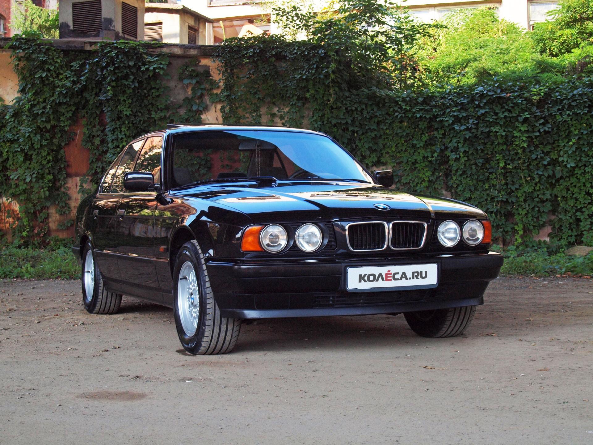 Опыт владения BMW 520i E34