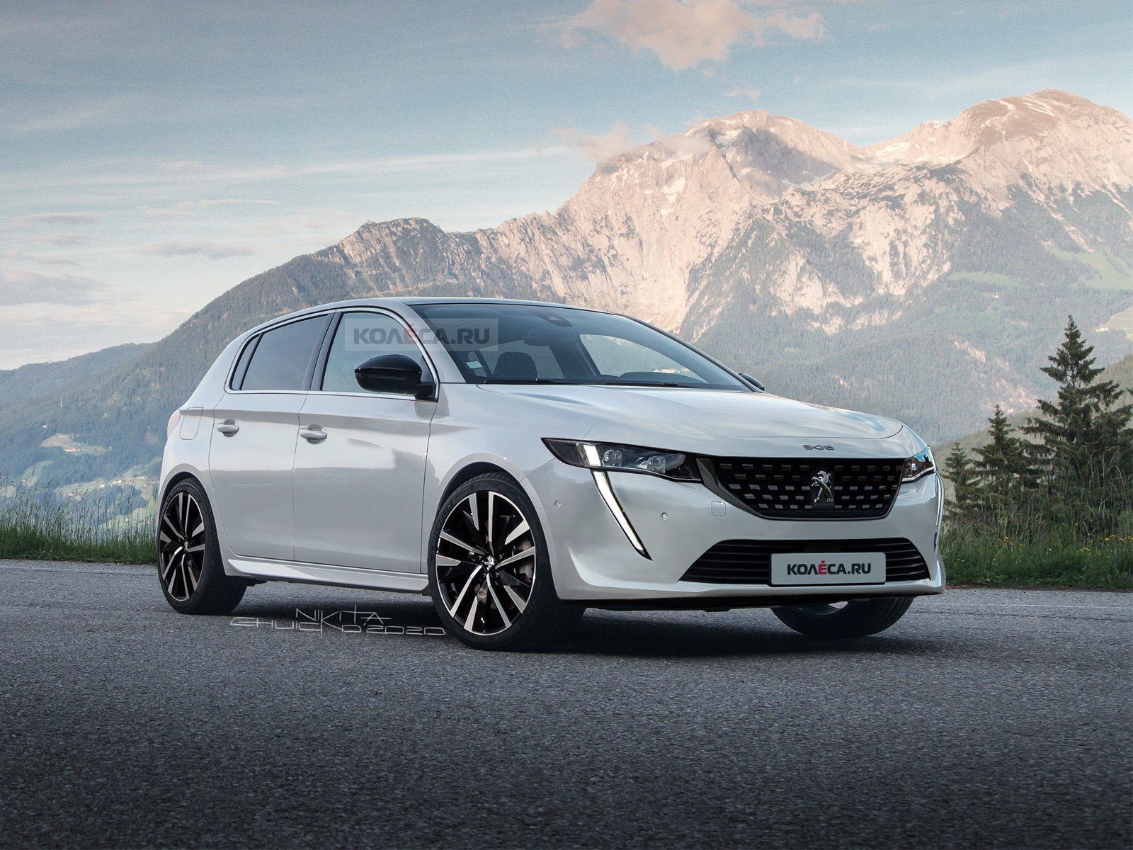 Новый Peugeot 308 — КОЛЕСА.ру – автомобильный журнал