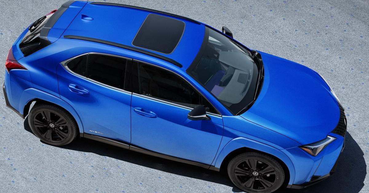 Самый маленький кроссовер Lexus получил «очень черную» спецверсию — Motor