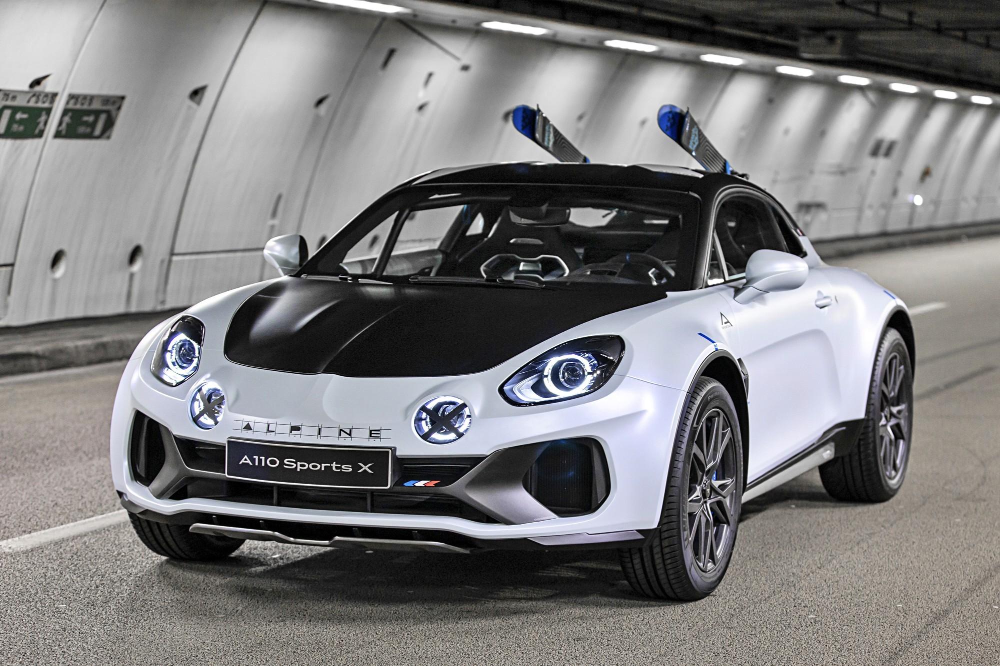 Кросс-купе Alpine A110 SportsX станет серийным
