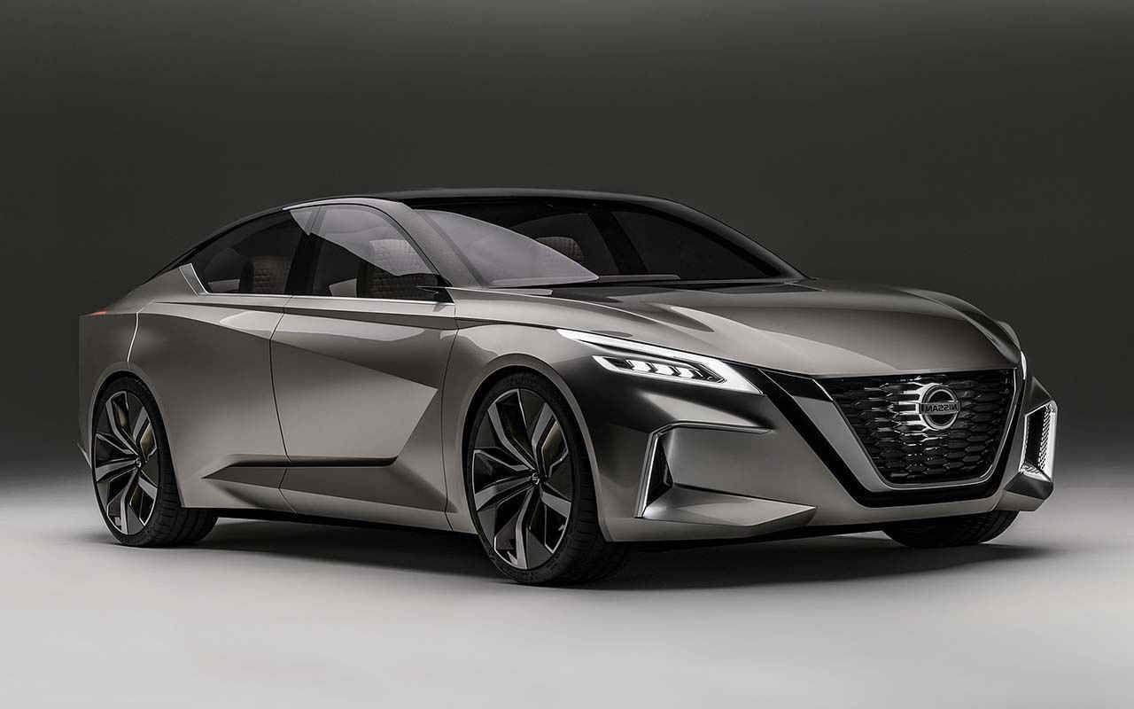 Nissan Altima 2020 мощь и комфорт