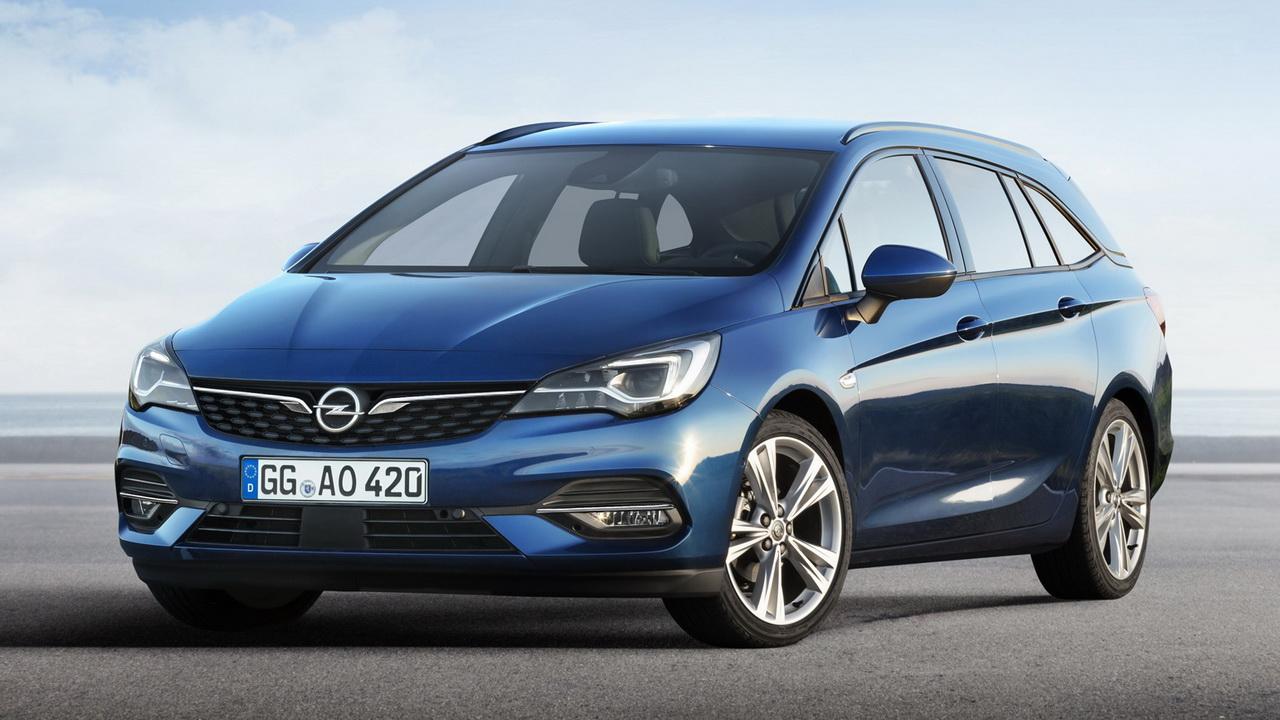 Последний Astra Sports Tourer от Opel
