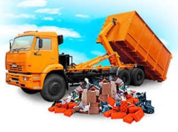 Вывоз мусора с помощью специализированной компании
