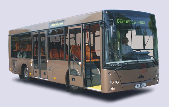 Схема автобусов МАЗ