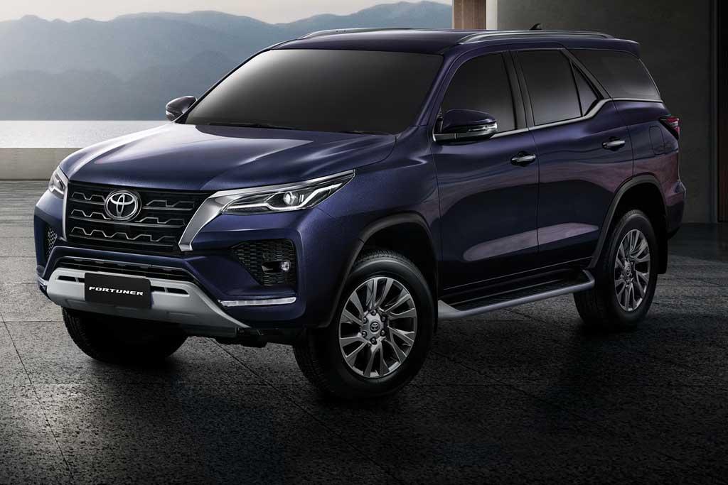 Обзор нового автомобиля TOYOTA FORTUNER 2021