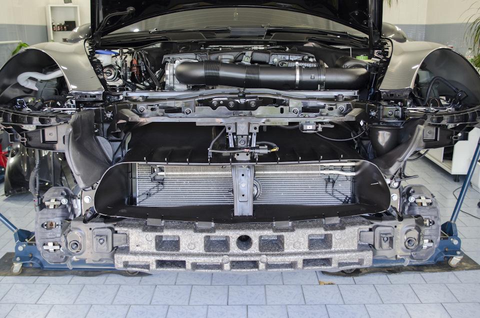 Детейлинг двигателя и подвески