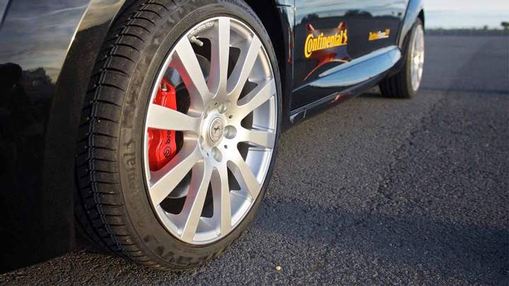 Летние шины Континенталь на легковые авто